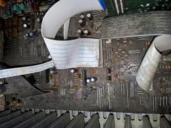 Reparación amplificador yamaha