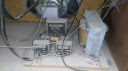 2 detalle de la alimentacion y transformadores de salida speaker