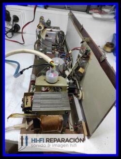 Reparación equipos audio